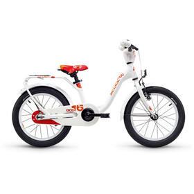 s'cool niXe 16 alloy Kids, white red